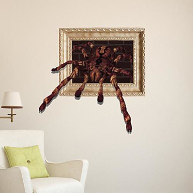 3D The Spider  Wall Stickers Wall Decals