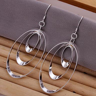 vilin femei cercei cerc de argint clasic feminin stil