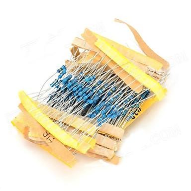 1/4W Resistance Colored Resistor -(Blue + Multicolored) (230 PCS)