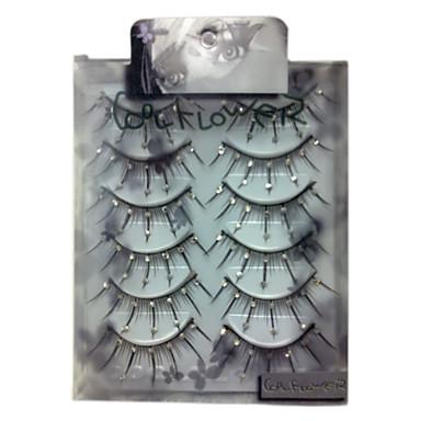 Falsche Wimpern Augenwimpern Klassisch Alltag Bilden Kosmetikum