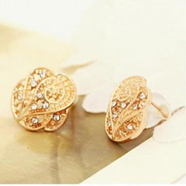 Women's Stud Earrings - Rhinestone Star