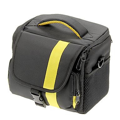 NEW Nylon Large Size SLR Camera Bag (Yellow, Red)