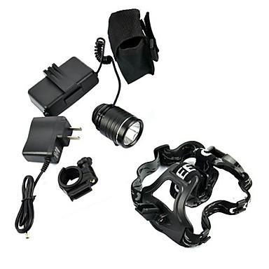 Налобные фонари LED Люмен 3 Режим AAA