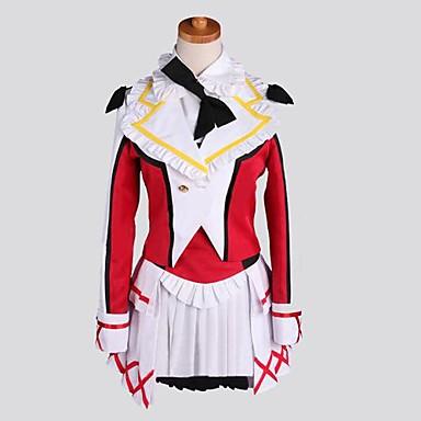 Inspireret af Kærlighed Levende Nozomi Tōjō Anime Cosplay Kostumer Cosplay Kostumer Patchwork Langærmet Frakke 背心 Trøje Nederdel Sokker