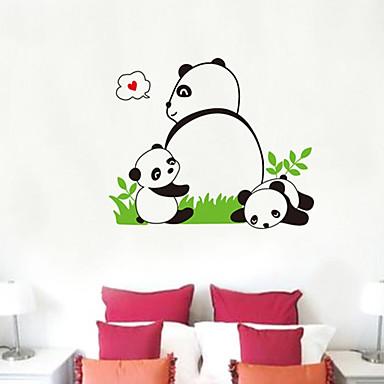 Panda vzor Wall Sticker (1KS)