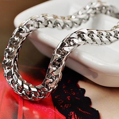 Men's Chain Bracelet Personalized Unique Design Fashion Stainless Steel Others Snake Jewelry Christmas Gifts Daily Casual