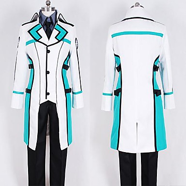 Inspired by Cosplay Cosplay Anime Cosplay Costumes Cosplay Suits Patchwork Long Sleeves Coat Pants T-shirt For Men's