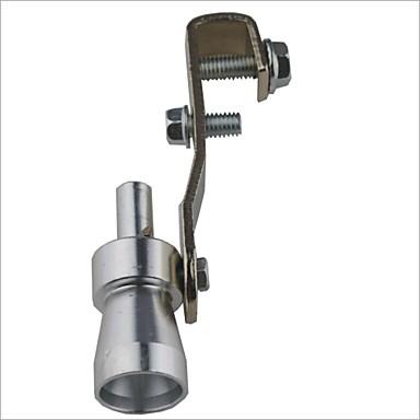povoljno Ispušni sustavi-Car Turbo Sound Zviždanje turbopunjača - Silver (veličina S)