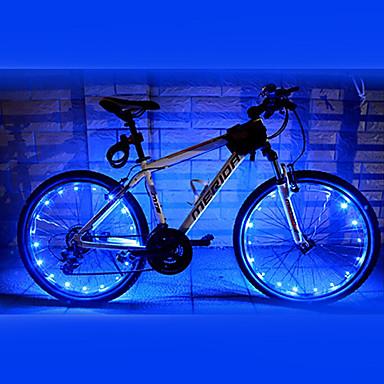 Lumini de Bicicletă lumini roți LED Ciclism Rezistent la apă AA Lumeni Baterie Ciclism-FJQXZ