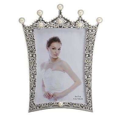 Klasický motiv Pochromovaný fotoalba Stříbrná
