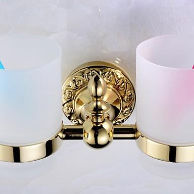 מחזיק למברשת שיניים גאדג'ט לאמבטיה / TI-PVD ניאוקלאסי