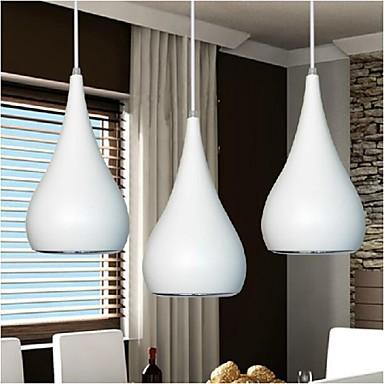 KAKAXI Подвесные лампы Потолочный светильник - LED, 90-240 Вольт, Теплый белый / Белый, Лампочки включены / 10-15㎡