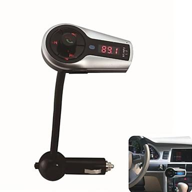 Bluetooth Handsfree FM-передатчик USB / SD карт MP3 Формат Музыка играет с многофункциональным пультом