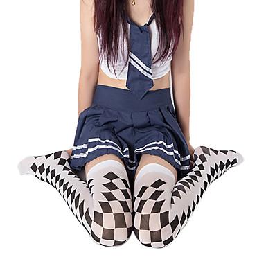 Sokker og Nylonstrømpe Punk Lolita Lolita Lolita Dame Lolita Tilbehør Trykt mønster Strømper polyester