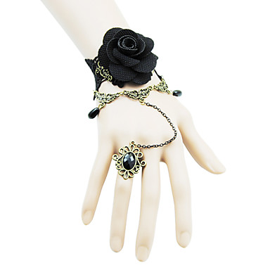 Coolshine Wedding Rose Armbånd med Ringe-2014-201-LSL054