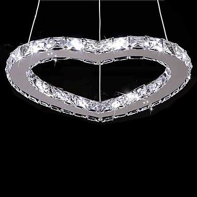 Modern / Zeitgenössisch Kronleuchter Deckenfluter - Kristall LED, 110-120V 220-240V LED-Lichtquelle enthalten