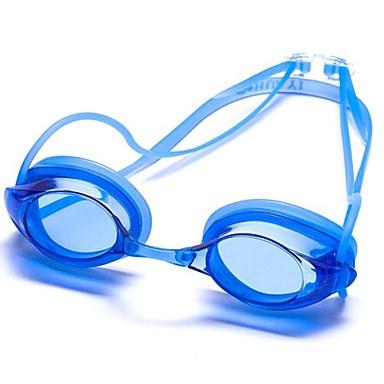 svømmebriller Unisex Anti-Tåge / Anti-Bære / Vandtæt / Justerbar Størrelse / Anti-UV / Brudsikker / Anti-glide Strop Silika Gele PC / UV