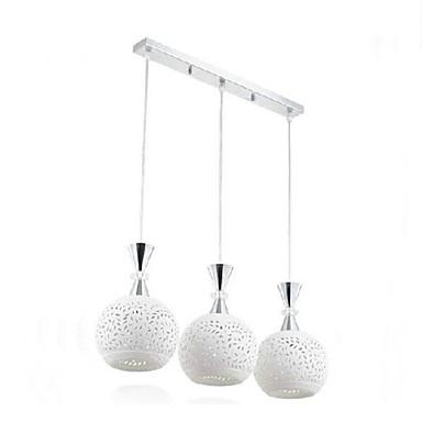 Pendant Light Ambient Light - LED, Modern / Contemporary, 110-120V 220-240V, White, Bulb Included
