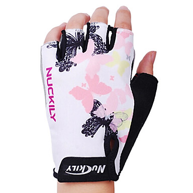 Nuckily Sports Gloves Bike Gloves / Cycling Gloves Fingerless Gloves Cycling / Bike