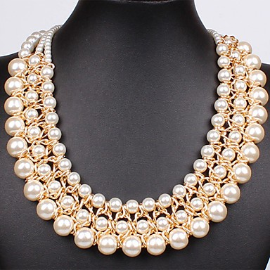 SALLY Dámská Perl jako náhrdelník