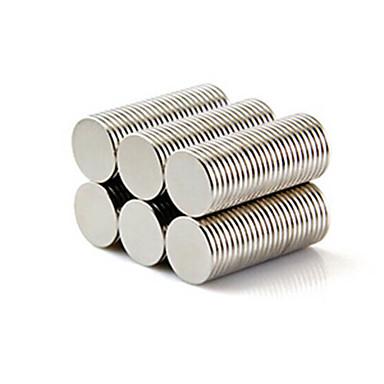 50 pcs 10*1mm Magneettilelut Rakennuspalikat / Puzzle Cube / Neodyymimagneetti Magneetti Magneetti Tyttöjen Lasten / Aikuisten Lahja