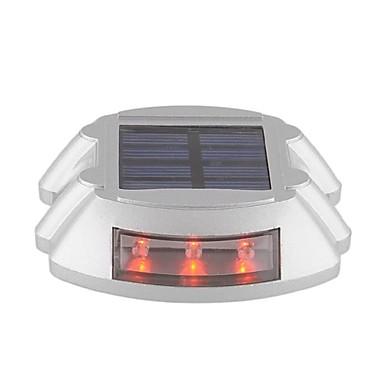 energie solară în aer liber alee rutier stație de andocare cale pas lampă cu lumină roșie de iluminat cu 6 condus