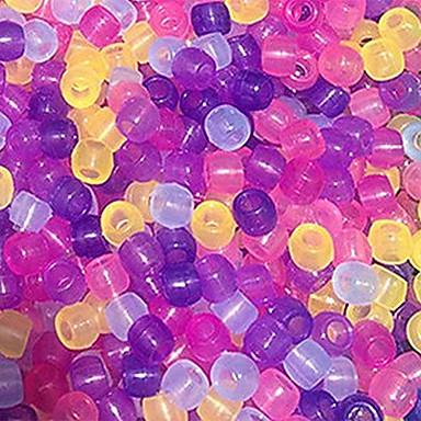* baoguang®8 margele schimbare de culoare 6mm pentru război de țesut de culoare curcubeu (20buc)