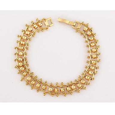 женская мода уникальный shape18 к позолоченный браслет