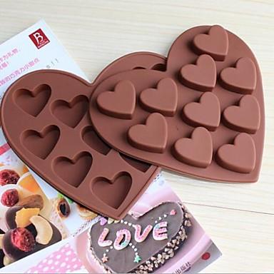 liefde vorm 10 klein hartje chocolade ice tray ijs cakevormen