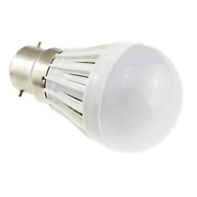 2W 1200 lm B22 Bulb LED Glob A50 10 led-uri SMD 2835 Alb Rece AC 220-240V