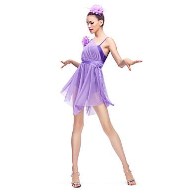 tenues lycra et mousseline de soie ballet robe de danse moderne pour les enfants femmes. Black Bedroom Furniture Sets. Home Design Ideas