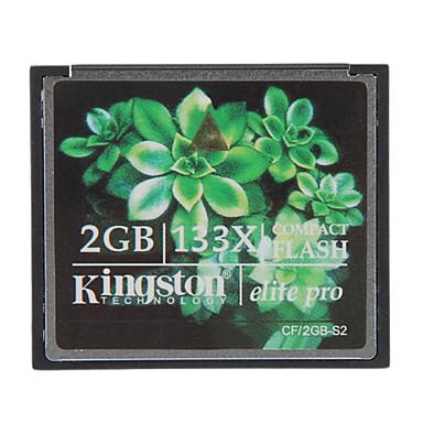 kingston 2gb elite pro 133x compact flash cf-geheugenkaart