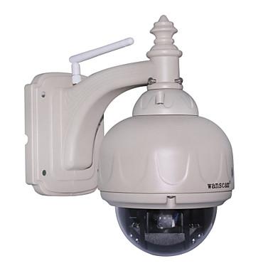 wanscam® vedenpitävä ir pan tilt langaton ulkona domekamera
