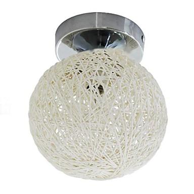 Unterputz Raumbeleuchtung Chrom Metall Ministil Inklusive Glühbirne / E12 / E14