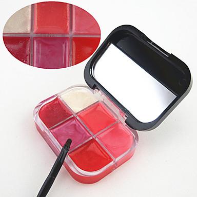 젤 립글로스 메이크업 거울 젖은 / 희미하게 반짝이는 습기 / 지속 시간 / 천연 구성하다 화장품 미용 용품