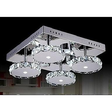 lampade moderne chiare lampadari di cristallo 4 luci per camera da ... - Lampadari Moderni Camera Da Letto
