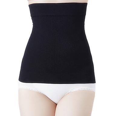 Îmbrăcăminte modelare corporală Respirabilitate / Purtabil / Anti-Scame Nylon / Spandex / Chinlon Fără cusături / Lin Talie Înaltă Mediu