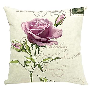 1 bucă de violet flori tricot bumbac / lenjerie de pat acoperă
