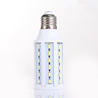 12W 2800-3200/4200-4500/6000-6500 lm E26/E27 LED лампы типа Корн T 60 светодиоды SMD 5730 Декоративная Естественный белый AC 220-240V AC