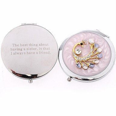 Wedding Anniversary Birthday Party Stainless Steel Compacts Garden Theme-1 7