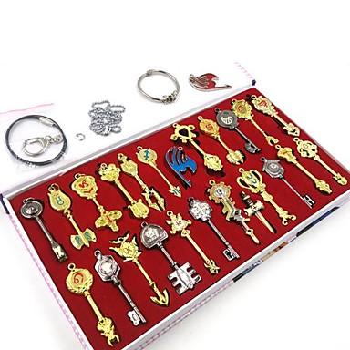 Mehre Accessoires Inspiriert von Fairy Tail Cosplay Anime Cosplay Accessoires Schlüsselanhänger Aleación Herrn Damen neu