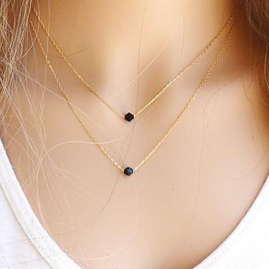 Pendentif de collier Cristal Gemme or rempli Alliage LED Européen Bijoux Pour Soirée Quotidien Décontracté