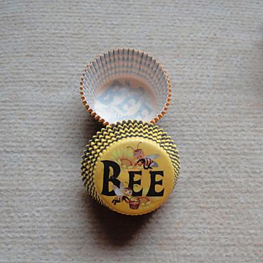 Coș Hârtie perlă Favor Holder Cu Forme Hartie pentru Brioșe si Cutii