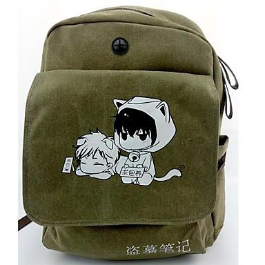 Tas geinspireerd door Cosplay Cosplay Anime Cosplay Accessoires Tas / rugzak Groen Canvas / Nylon Mannelijk