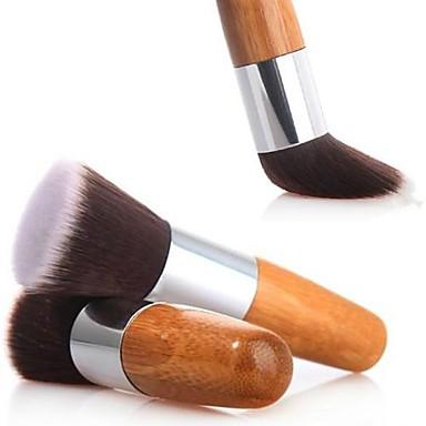 1pcs Professional Makeup Bürsten Puderpinsel Künstliches Haar Gesicht Mittelgroße Pinsel
