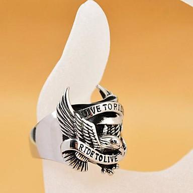 Herrn Edelstahl Bandring - Personalisiert Ring Für Weihnachts Geschenke / Alltag / Normal