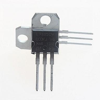 L7805CV Spannungsregler 5V / 1.5A TO-220 (5 Stück)