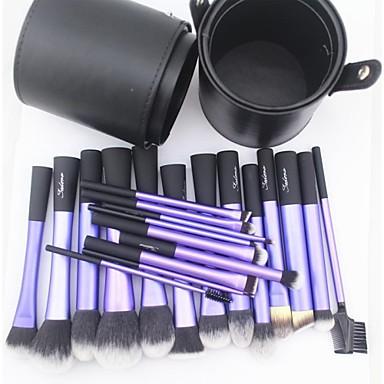 povoljno Kupuj po markama-profesionalac Četke za šminku Četka Setovi 22pcs Synthetic Hair / Umjetna vlakna četkice Kistovi za šminku za Set kistova za šminkanje