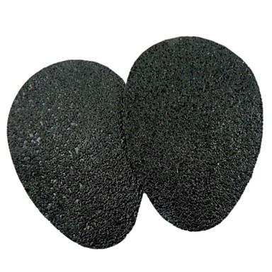 abordables Accessoires pour Chaussures-2pcs Caoutchouc Semelle Intérieures Femme Toutes les Saisons Décontracté Noir