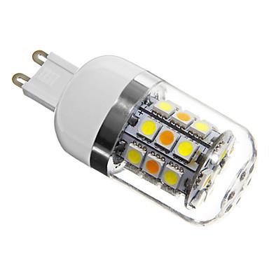 280 lm G9 LED Mais-Birnen T 31 Leds SMD 5050 Natürliches Weiß Wechselstrom 220-240V